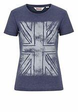 Lonsdale Damen T-Shirt Tifty Dark Navy Blau