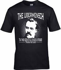 Friedrich Nietzsche Men's T-Shirt philosophy The Ubermensch What Doesn't kill