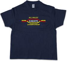 ALL VALLEY KARATE CHAMPIONSHIP Kids Boys T-Shirt Kid Logo Sign Martial Arts Kung