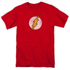 Flash Logo Sheldon Cooper As Seen On Big Bang Theory Licensed Adult Shirt S-3XL