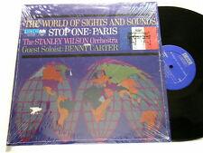 STANLEY WILSON & BENNY CARTER Stop One: Paris Pierre Michelot stereo LP