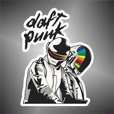 adesivo  musica DAFT PUNK BAND  music sticker aufkleber pegatina