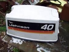 JOHNSON OMC EVENRUDE 40HP ENGINE HOOD COVER TOP