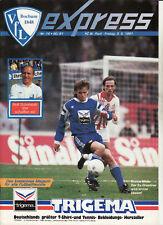 BL 90/91 VfL Bochum - FC St. Pauli