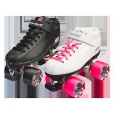 Riedell Quad Roller Speed Skates - R3 Black or White