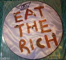 AEROSMITH - EAT THE RICH - VINILE PICTURE - PROMO - NUOVO!