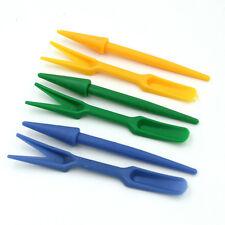 Economic 2X Plastic Dig Seedling Tools Hole Puncher Garden Tool WL