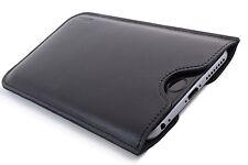 Nokia Lumia 950XL Leder Handytasche schwarz Hülle Case Etui Cover WUNSCHGRAVUR