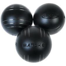 Boules de pétanque Obut Match+ durete+  73mm Noir 60857 - Neuf
