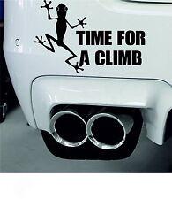 Time for a Climb Sticker Mountain Climbing Decal Rock Climbing Sticker