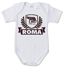 BODY tutina bimbo neonato J1383 Città Roma Eterno Amore 753 a.c. Fan 100% cotone