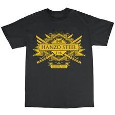 Hanzo Acero Camiseta 100% algodón Kill Bill inspirado Quentin Tarantino espada