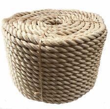 NUOVO 28 mm SINTETICO Sisal Corda bobine, GIARDINO, COPERTURA, gite in barca, fai da te corda