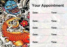TATTOO STUDIO ARTISTA tattooist personalizzata nomina CARDS