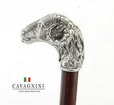 Bastone Da Passeggio CAVAGNINI Legno Vintage Ortopedico  Artigianali Caprone