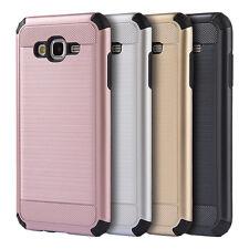 For Samsung Galaxy J3 J5 J7 Shockproof Slim Hybrid Brushed Case Skin Phone Cover