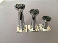 Piede Mobile Cromo Piedi Mobile Metalfüße Alluminio 5cm 8cm 10cm