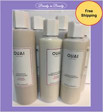 OUAI HAIRCARE Shampoo, Conditioner -Clean, Repair, Smooth, Volume, Curl Pick New