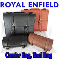 Royal enfield motorcycle saddle leather roof mounting kit tool logo