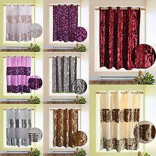 Organza Velvet Single Panel Bedroom 72 x 64 Inch Curtain Brand New Gift