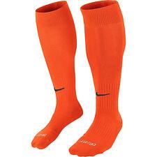 SOCKS FOOTBALL/ SOCCER NIKE CLASSIC II CUSHIONED ORANGE SIZES XS-XL NEW FOR 2018