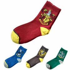 Harry Potter Gryffindor/ Slytherin /Hufflepuff/Ravenclaw House Logo Patch Socks