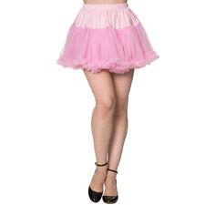 Dancing Days Vintage Rockabilly Mini Petticoat Unterrock Tüllrock - Nomad Pink