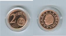 Belgique 2 Cent PP/Proof (Choisissez deux: 1999 - 2017)