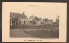TRICOT (60) VILLAS , Rue Verte , en 1918