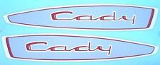 2  AUTOCOLLANTS  RESERVOIR    GM CADY - MOTOBECANE -  MOTOCONFORT