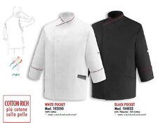 CHEF JACKET POCKET EGOCHEF ITALY COOK JACKE CHAQUETA COCINERO Шеф-повар куртка