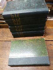 Veillées des chaumières de 1903 à 1912 /  8 volumes  reliés