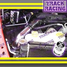 02-10 DODGE RAM 1500/2500/3500 3.7 V6/4.7L/5.7L V8 COLD AIR INTAKE+CHF Black Red
