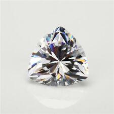 50pcs 3x3~15x15mm Trillion Shape White AAAAA loose cz stone cubic zirconia Stone
