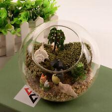 Clear Globe Ball Glass Flower Planter Vase Terrarium Container Landscape Bottle