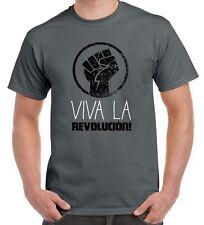 Viva La Revolution Cuba Men's T-Shirt - Che Guevara Marx Communism