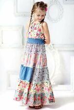 Matilda Jane Girls Size 2 4 Happy and Free Ocean Breeze Maxi Dress NWT In Bag