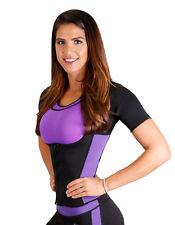 Neoprene Sauna Vest Reversible with Sleeves Sauna Shaper Exercise Gym 14106