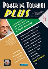 Livre POKER DE TOURNOI PLUS par SKLANSKY 416 pages en français