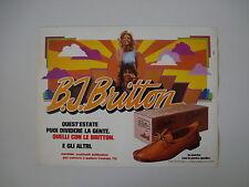 advertising Pubblicità 1975 SCARPE BRITTON