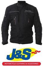 FRANK THOMAS Lisbo textile moto Veste imperméable moto noir Plus J&S