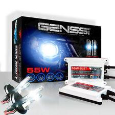 GENSSI 9007 HID Kit Headlight Bulbs White Blue Xenon Conversion Light Ballasts