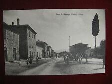 PONTE SAN GIOVANNI Perugia  BORGO, no viaggiata, animata, anni 30 #10880
