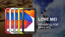 LOVE MEI Waterproof Gorilla Glass Outdoor Metal Case Cover fo OPPO R15 R11S R11+