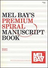 MEL BAY'S PREMIUM SPIRAL MANUSCRIPT BOOK - MEL BAY PUBLICATIONS, INC. (COR) - NE