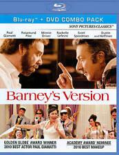 Barneys Version (Blu-ray +DVD ~ 2-Disc Set) ~ New & Factory Sealed!