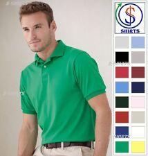 Hanes - Ecosmart Jersey Sport Polo Shirt - 054X-054 S-6XL