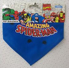 "Marvel Comics ""the AMAZING SPIDER-MAN"" PET BANDANA 2012 Dog/Pet Cotton/Poly New!"