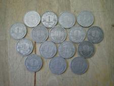 lot de 16 pieces 1 franc morlon alu