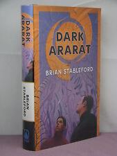 1st, signed, Emortality 3: Dark Ararat by Brian Stableford (2002)